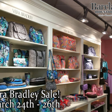 Vera Bradley Sale March 24th – 26th