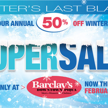 The Annual 50% Winter Super Sale is here!
