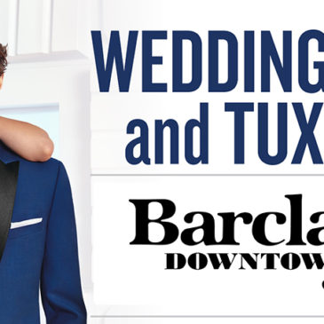 Barclay's is your Wedding Suits and Tuxedos Headquarters!
